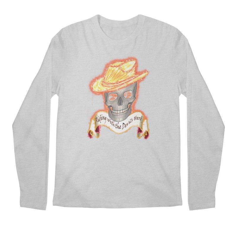 The Devils herd Men's Regular Longsleeve T-Shirt by nicolekieferdesign's Artist Shop