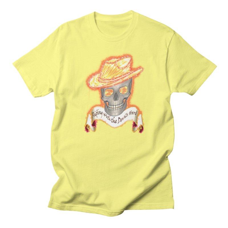 The Devils herd Men's Regular T-Shirt by nicolekieferdesign's Artist Shop