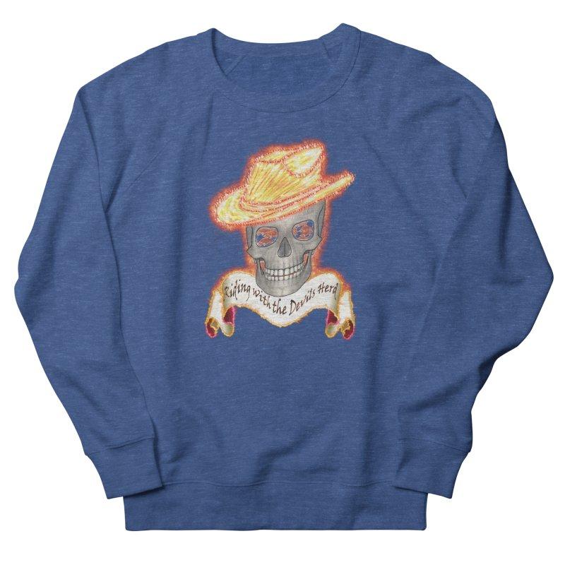 The Devils herd Women's French Terry Sweatshirt by nicolekieferdesign's Artist Shop