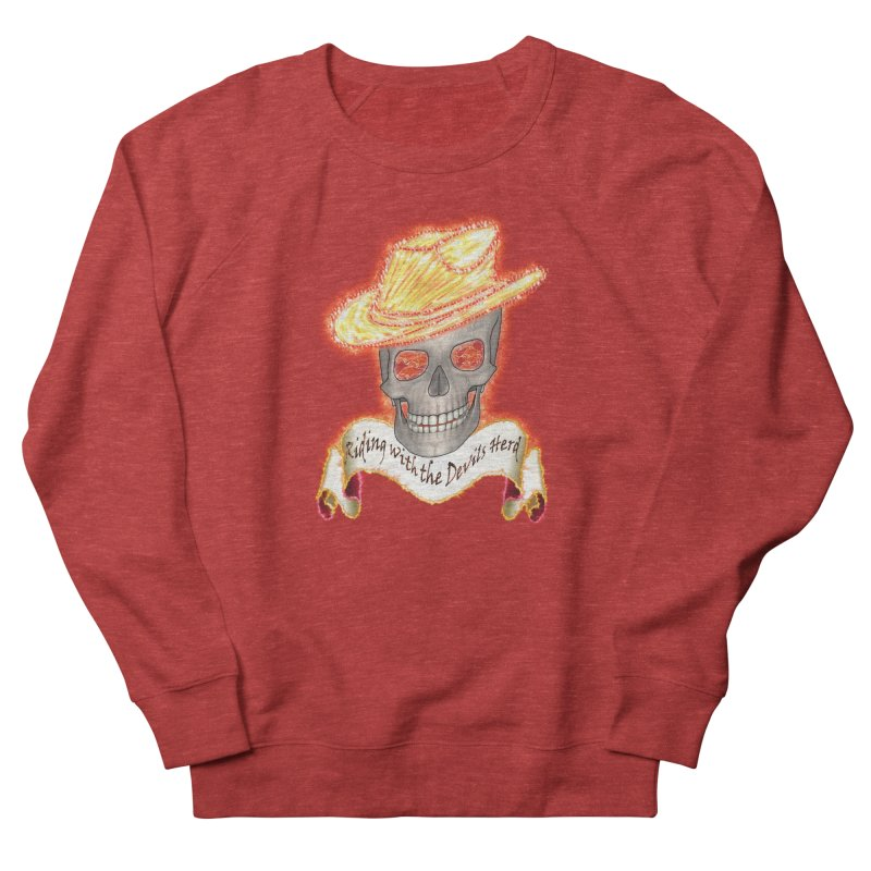 The Devils herd Men's French Terry Sweatshirt by nicolekieferdesign's Artist Shop