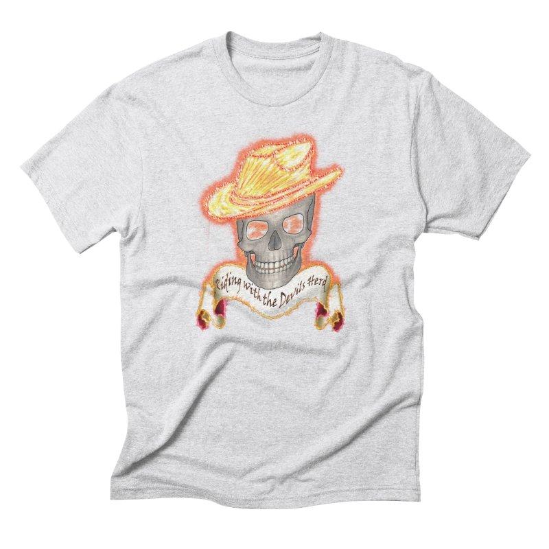 The Devils herd Men's Triblend T-Shirt by nicolekieferdesign's Artist Shop