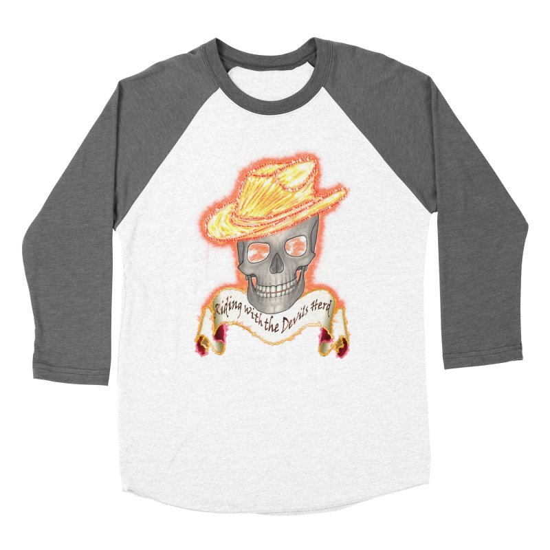 The Devils herd Women's Baseball Triblend Longsleeve T-Shirt by nicolekieferdesign's Artist Shop