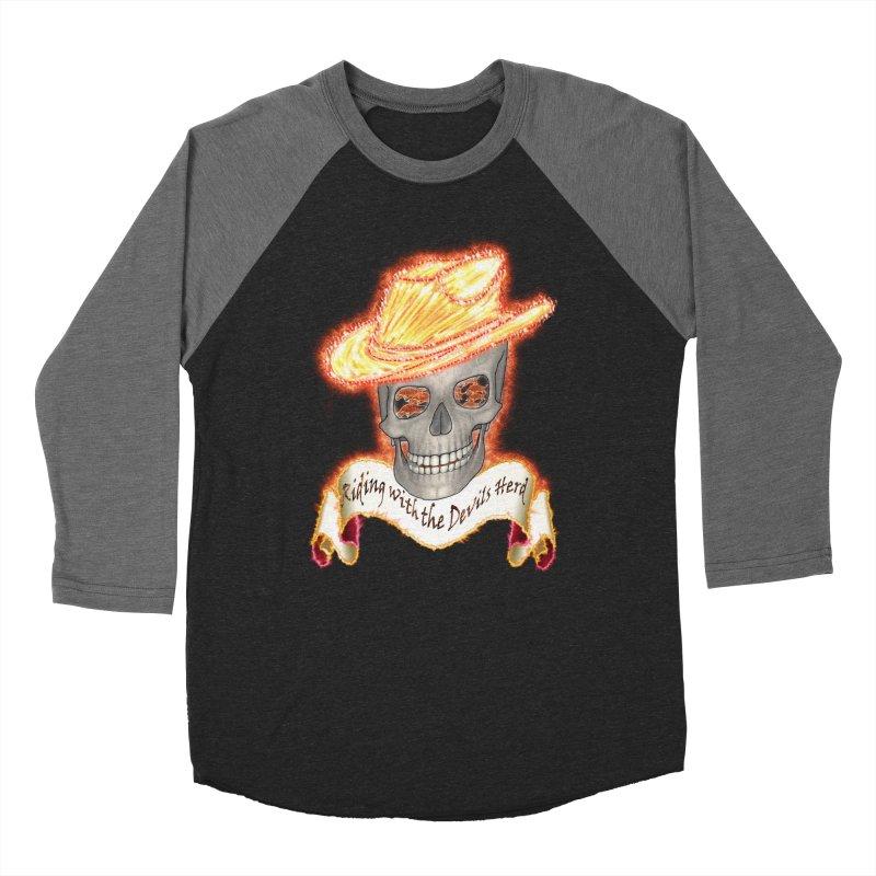The Devils herd Women's Baseball Triblend T-Shirt by nicolekieferdesign's Artist Shop