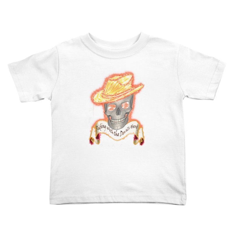 The Devils herd Kids Toddler T-Shirt by nicolekieferdesign's Artist Shop