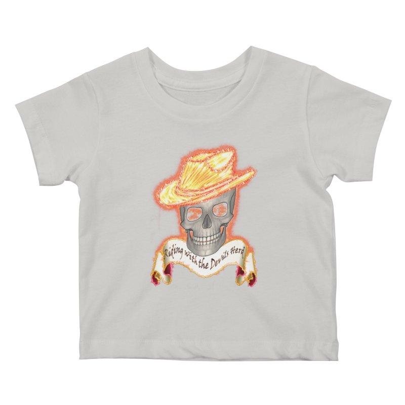 The Devils herd Kids Baby T-Shirt by nicolekieferdesign's Artist Shop