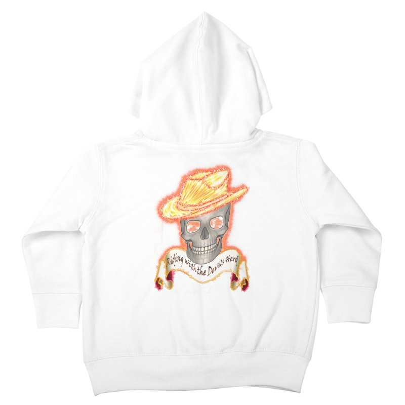 The Devils herd Kids Toddler Zip-Up Hoody by nicolekieferdesign's Artist Shop