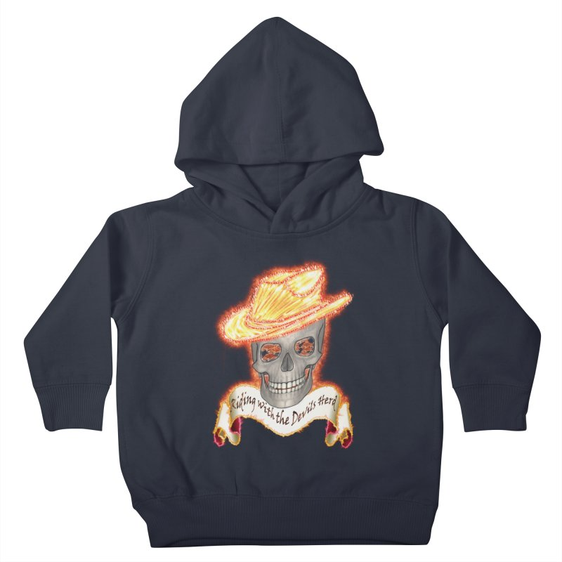The Devils herd Kids Toddler Pullover Hoody by nicolekieferdesign's Artist Shop