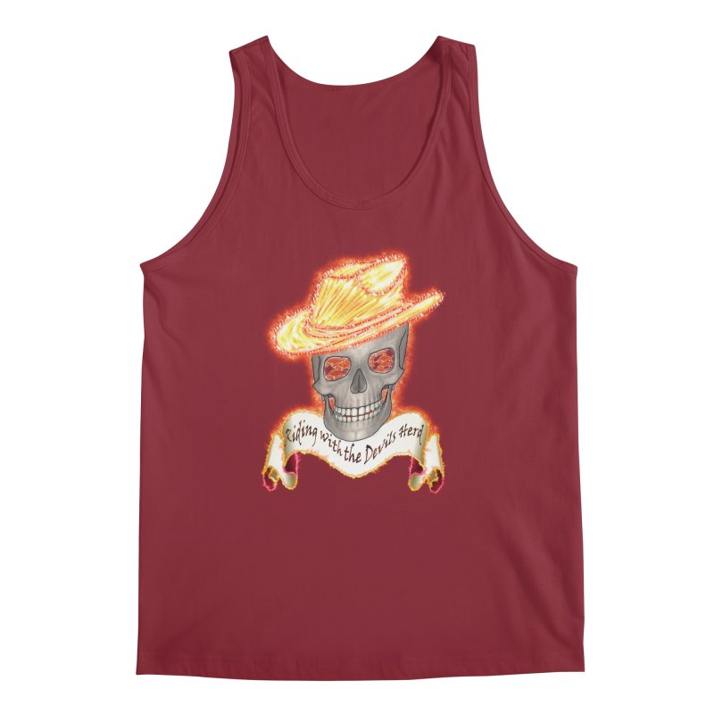 The Devils herd Men's Regular Tank by nicolekieferdesign's Artist Shop