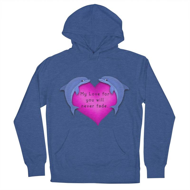 Dolphin Love Women's Pullover Hoody by nicolekieferdesign's Artist Shop