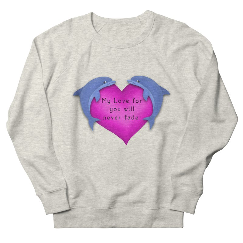 Dolphin Love Women's Sweatshirt by nicolekieferdesign's Artist Shop