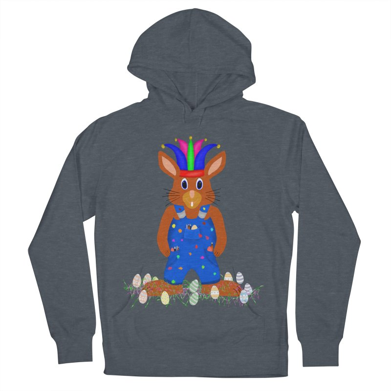 April first Bunny Women's French Terry Pullover Hoody by nicolekieferdesign's Artist Shop