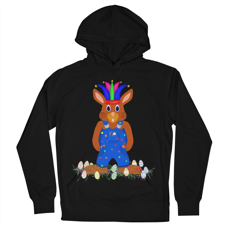 April first Bunny Men's French Terry Pullover Hoody by nicolekieferdesign's Artist Shop