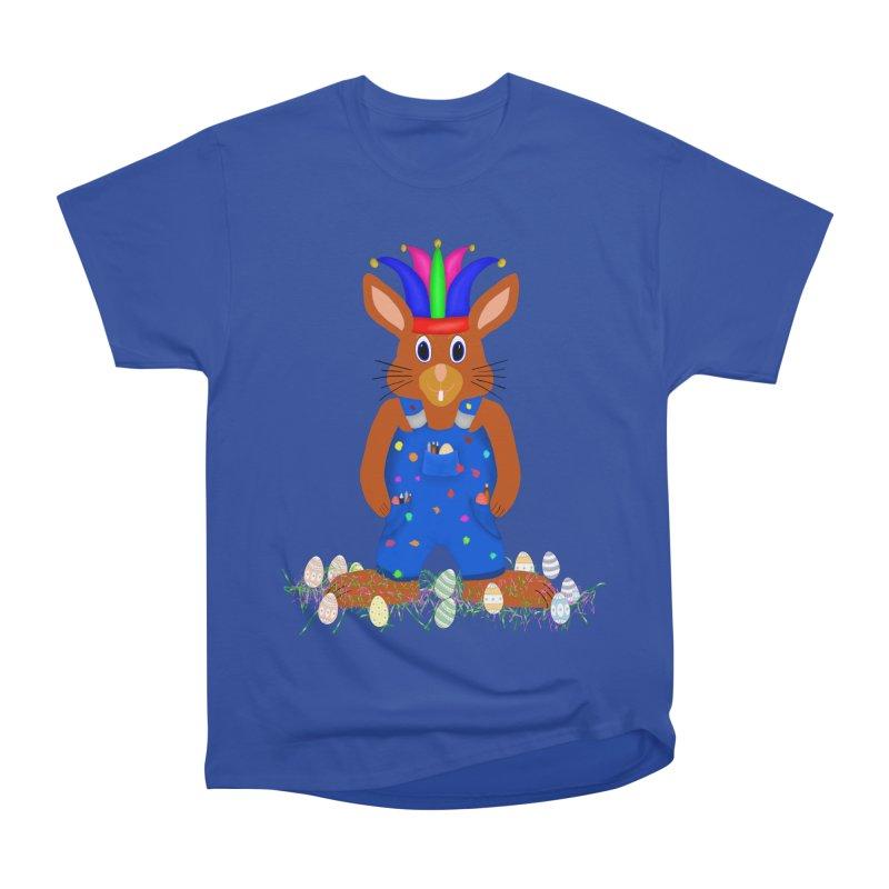 April first Bunny Women's Heavyweight Unisex T-Shirt by nicolekieferdesign's Artist Shop