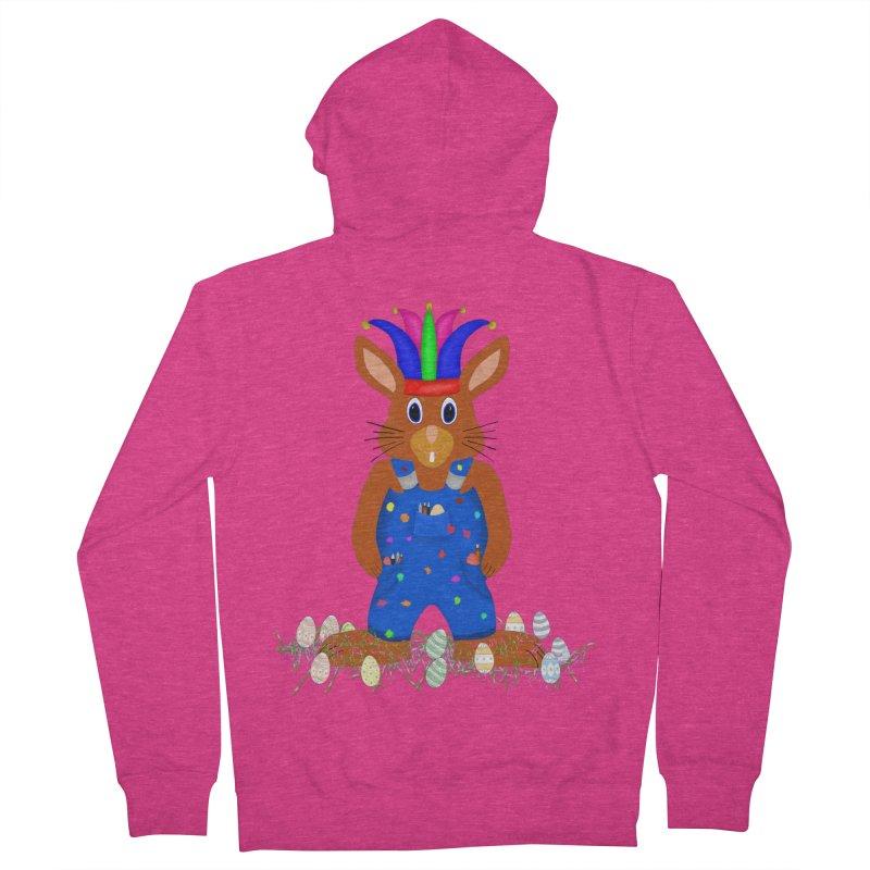 April first Bunny Women's Zip-Up Hoody by nicolekieferdesign's Artist Shop
