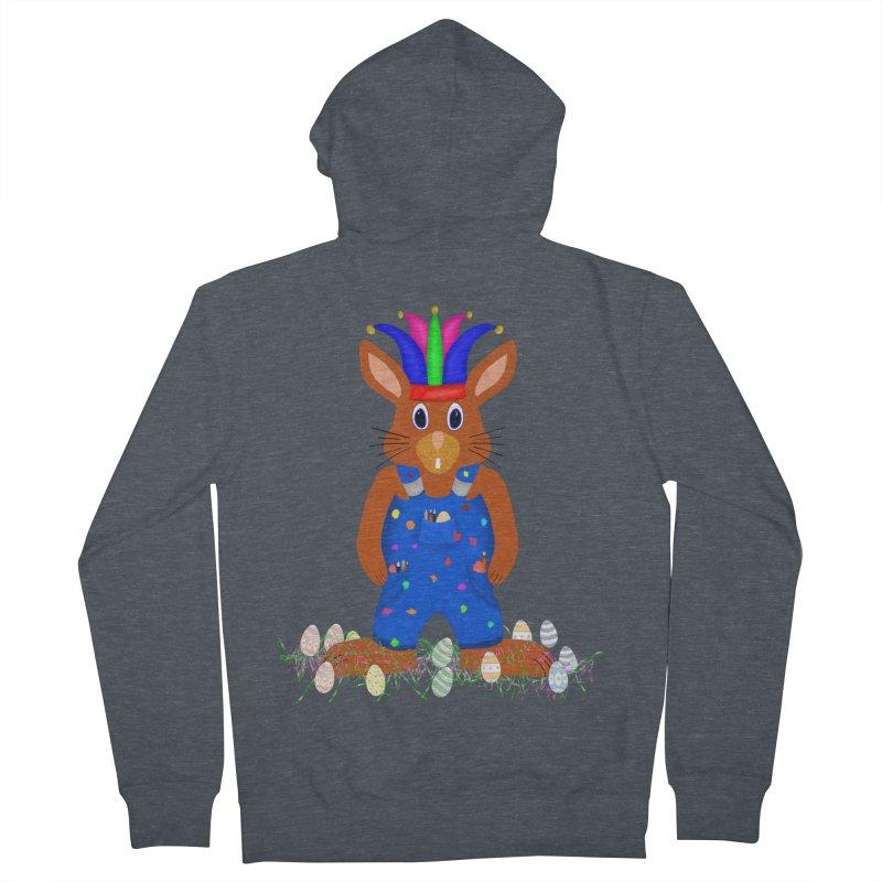 April first Bunny Men's Zip-Up Hoody by nicolekieferdesign's Artist Shop