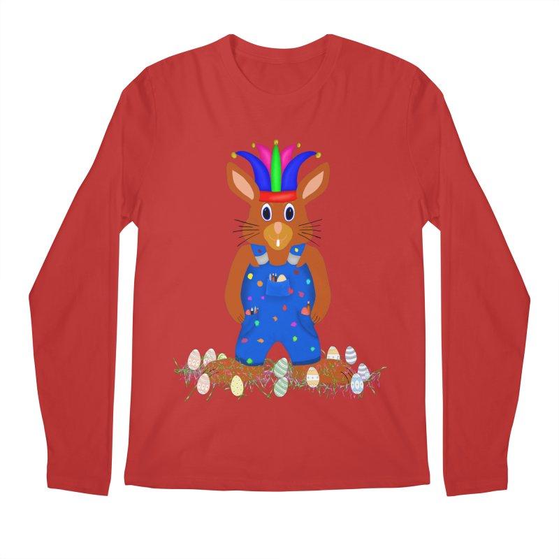 April first Bunny Men's Longsleeve T-Shirt by nicolekieferdesign's Artist Shop