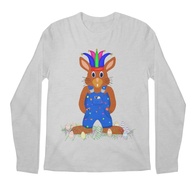 April first Bunny Men's Regular Longsleeve T-Shirt by nicolekieferdesign's Artist Shop