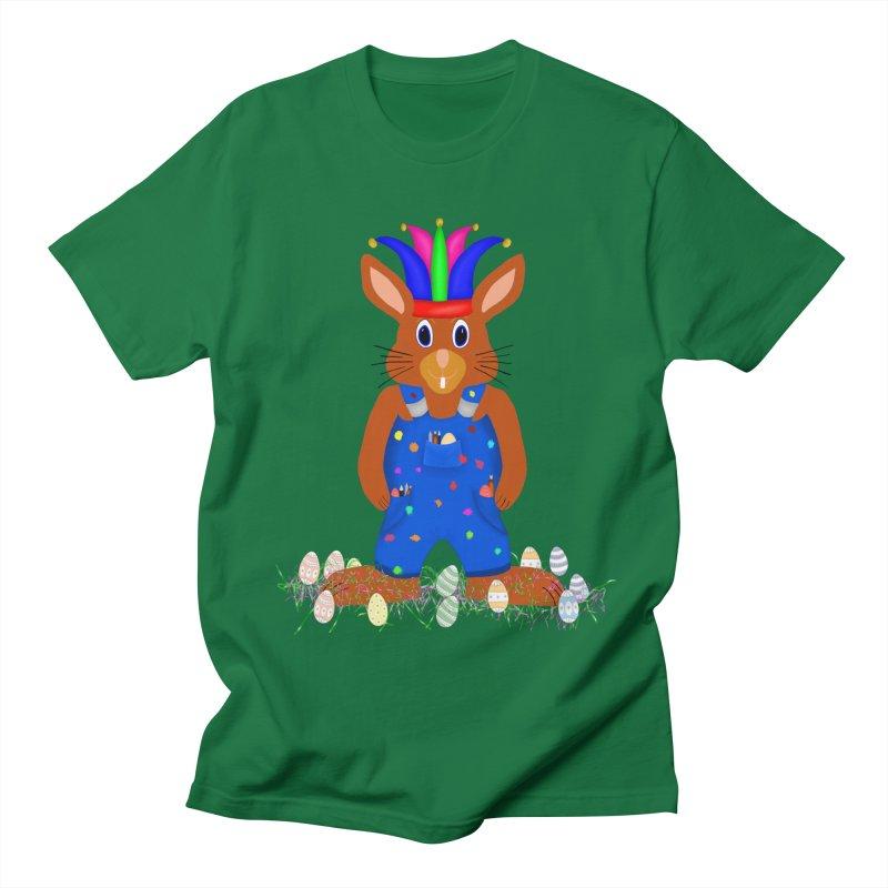 April first Bunny Men's Regular T-Shirt by nicolekieferdesign's Artist Shop