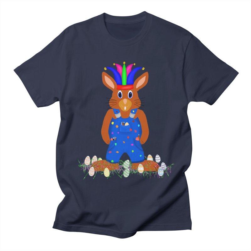 April first Bunny Women's Regular Unisex T-Shirt by nicolekieferdesign's Artist Shop