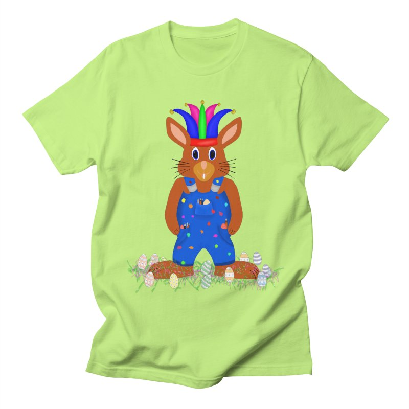 April first Bunny Women's Regular Unisex T-Shirt by nicolekieferdesign's Artist Shop