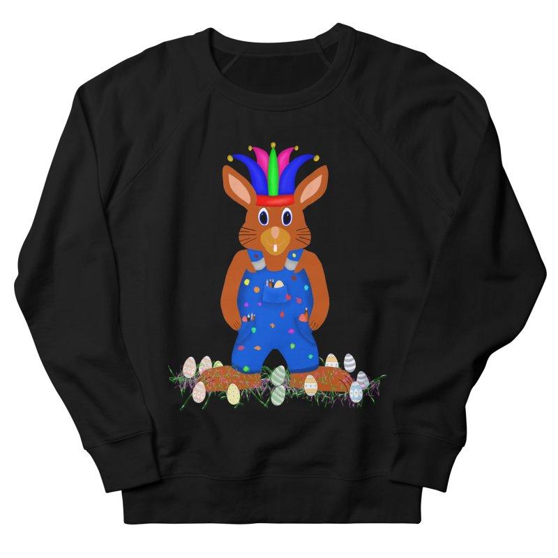April first Bunny Women's French Terry Sweatshirt by nicolekieferdesign's Artist Shop
