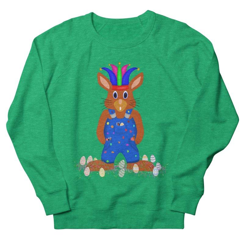 April first Bunny Men's French Terry Sweatshirt by nicolekieferdesign's Artist Shop