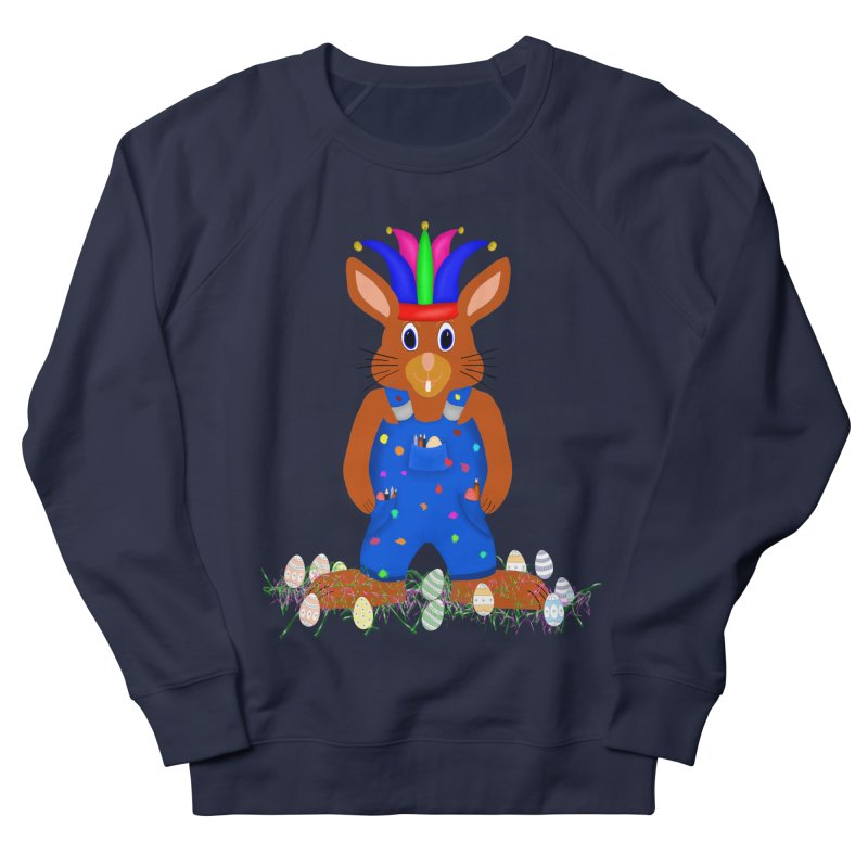April first Bunny Men's French Terry Sweatshirt by nicolekieferdesign's Artist Shop