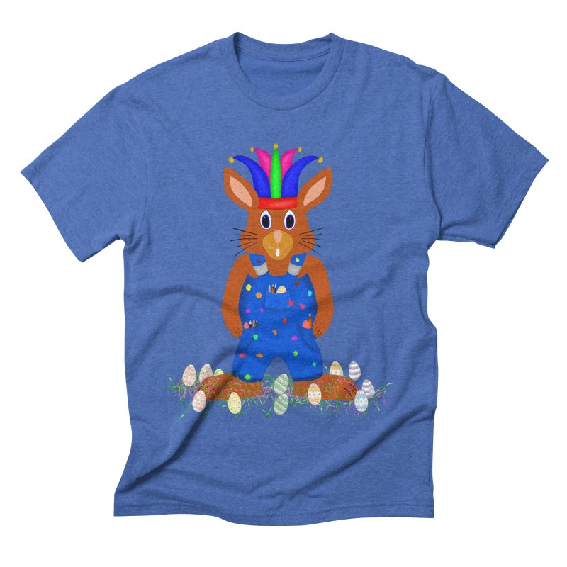 April first Bunny Men's Triblend T-Shirt by nicolekieferdesign's Artist Shop
