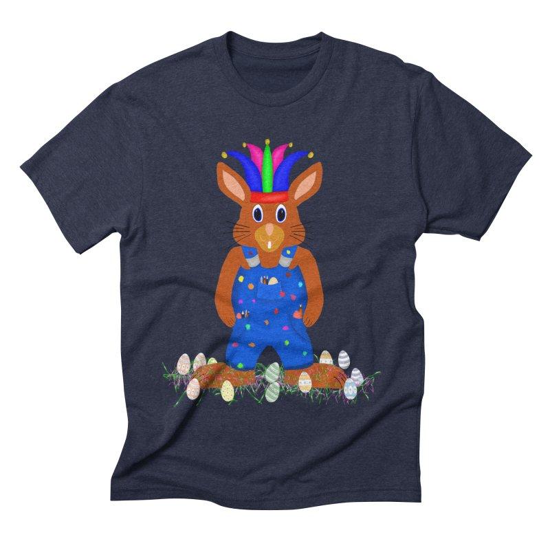 April first Bunny Men's Triblend T-Shirt by nicolekieferdesign's Artist Shop