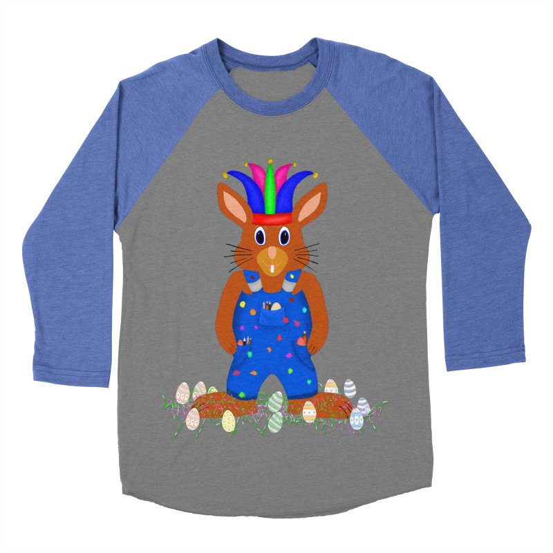 April first Bunny Women's Baseball Triblend Longsleeve T-Shirt by nicolekieferdesign's Artist Shop