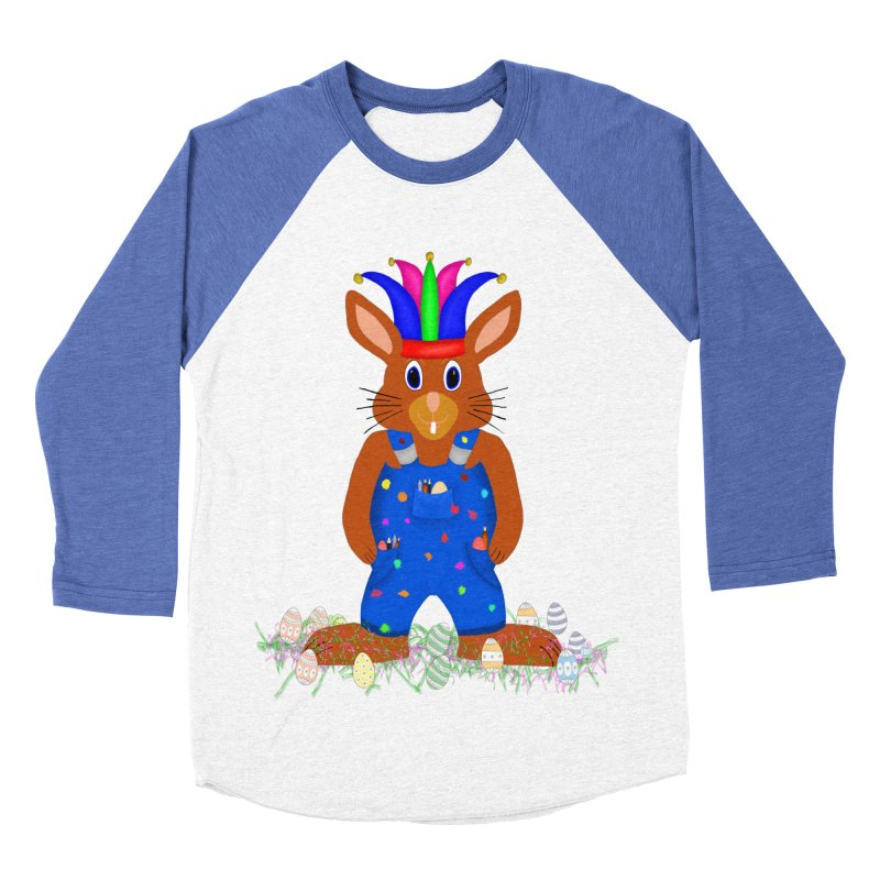 April first Bunny Men's Baseball Triblend T-Shirt by nicolekieferdesign's Artist Shop