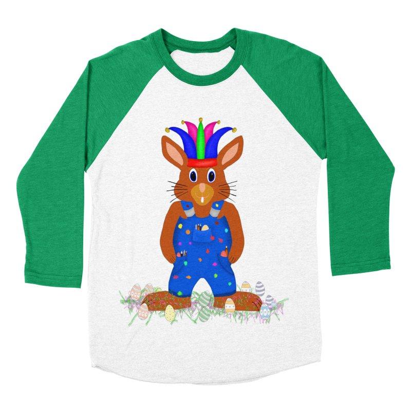 April first Bunny Men's Baseball Triblend Longsleeve T-Shirt by nicolekieferdesign's Artist Shop