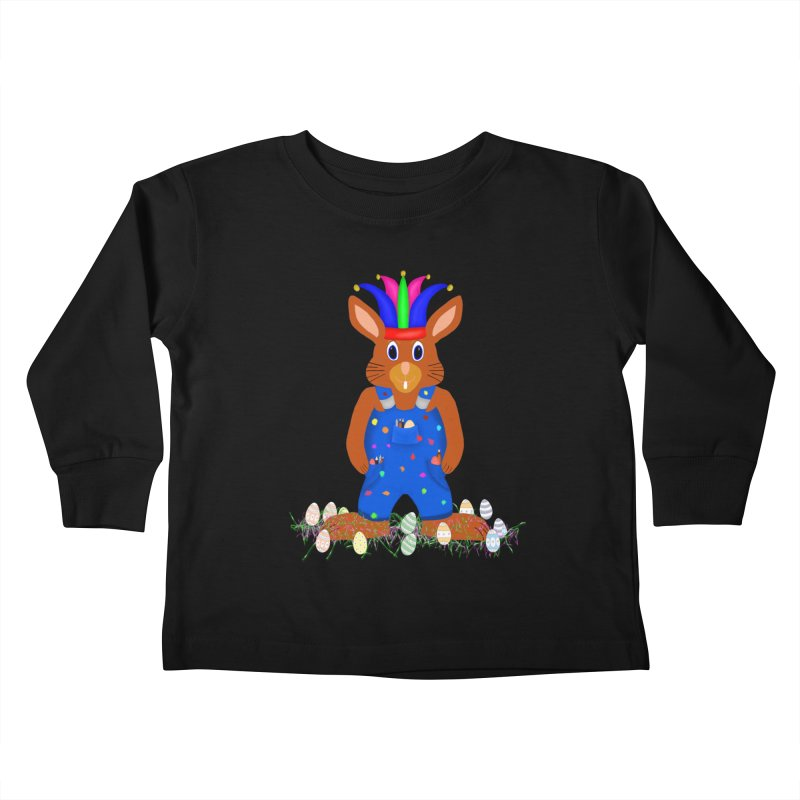 April first Bunny Kids Toddler Longsleeve T-Shirt by nicolekieferdesign's Artist Shop