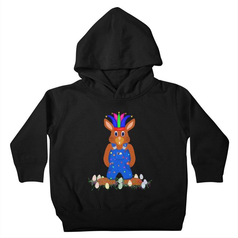 April first Bunny Kids Toddler Pullover Hoody by nicolekieferdesign's Artist Shop