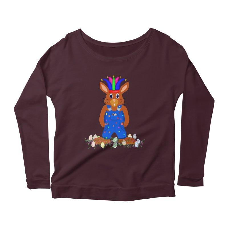 April first Bunny Women's Scoop Neck Longsleeve T-Shirt by nicolekieferdesign's Artist Shop
