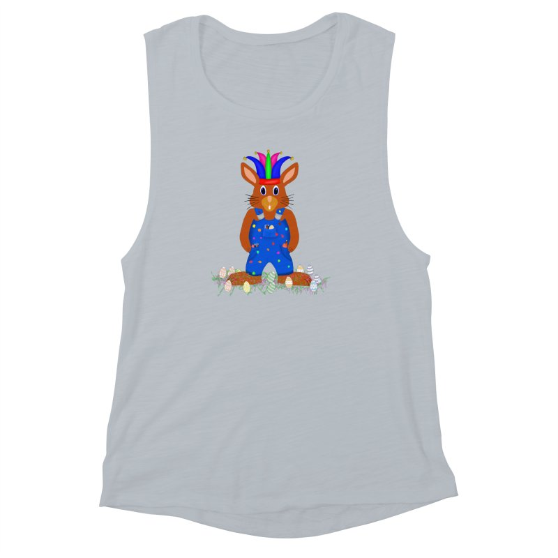 April first Bunny Women's Muscle Tank by nicolekieferdesign's Artist Shop