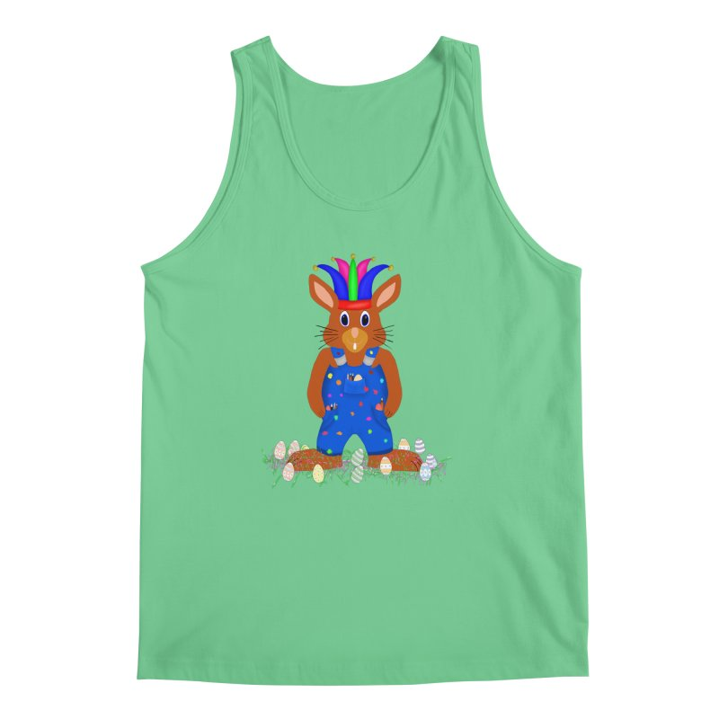 April first Bunny Men's Regular Tank by nicolekieferdesign's Artist Shop