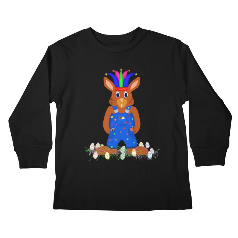April first Bunny Kids Longsleeve T-Shirt by nicolekieferdesign's Artist Shop