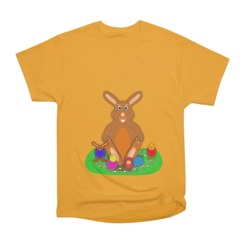 Funny Bunny Men's Classic T-Shirt by nicolekieferdesign's Artist Shop