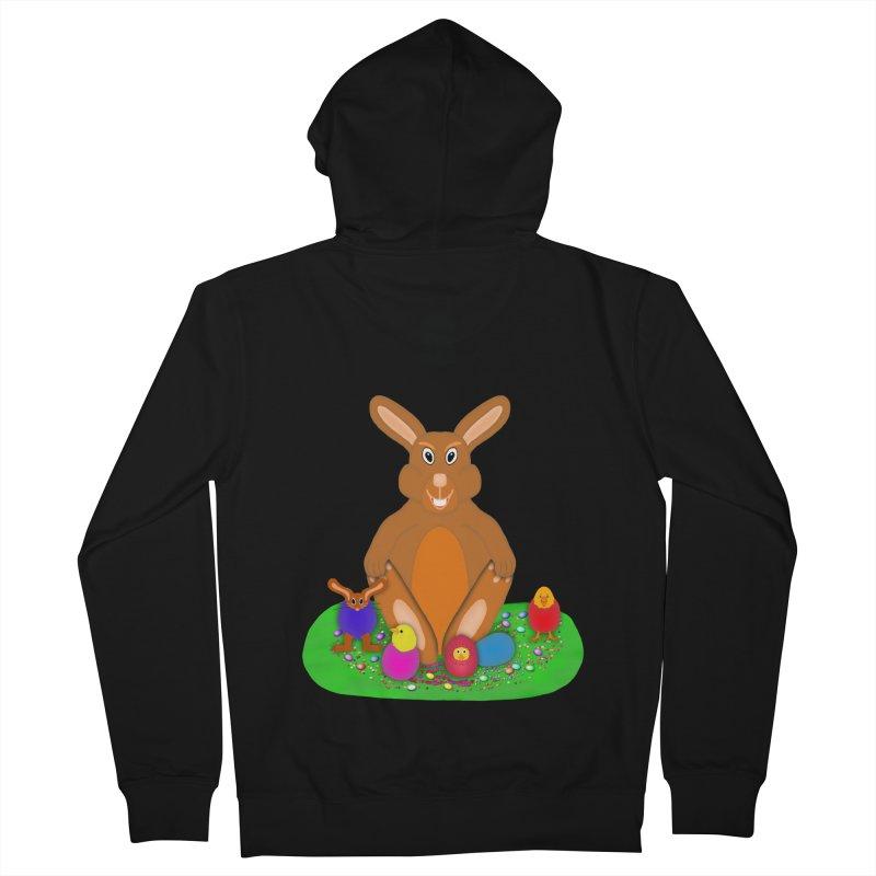 Funny Bunny Women's Zip-Up Hoody by nicolekieferdesign's Artist Shop