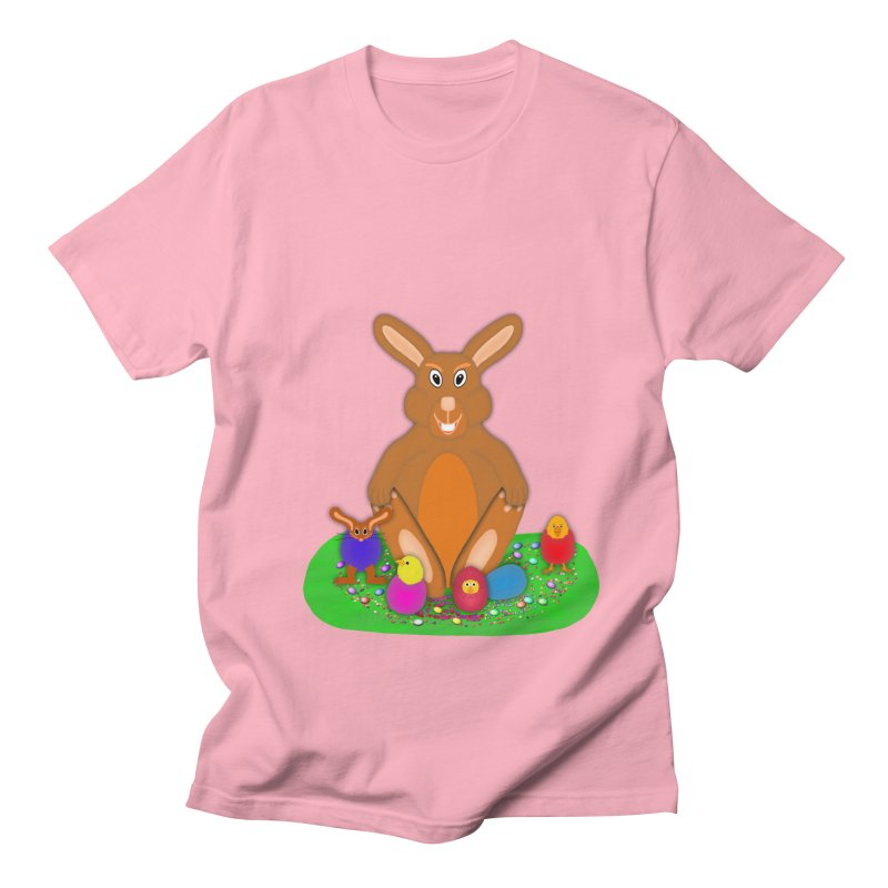 Funny Bunny Women's Regular Unisex T-Shirt by nicolekieferdesign's Artist Shop
