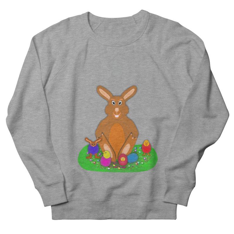 Funny Bunny Women's French Terry Sweatshirt by nicolekieferdesign's Artist Shop