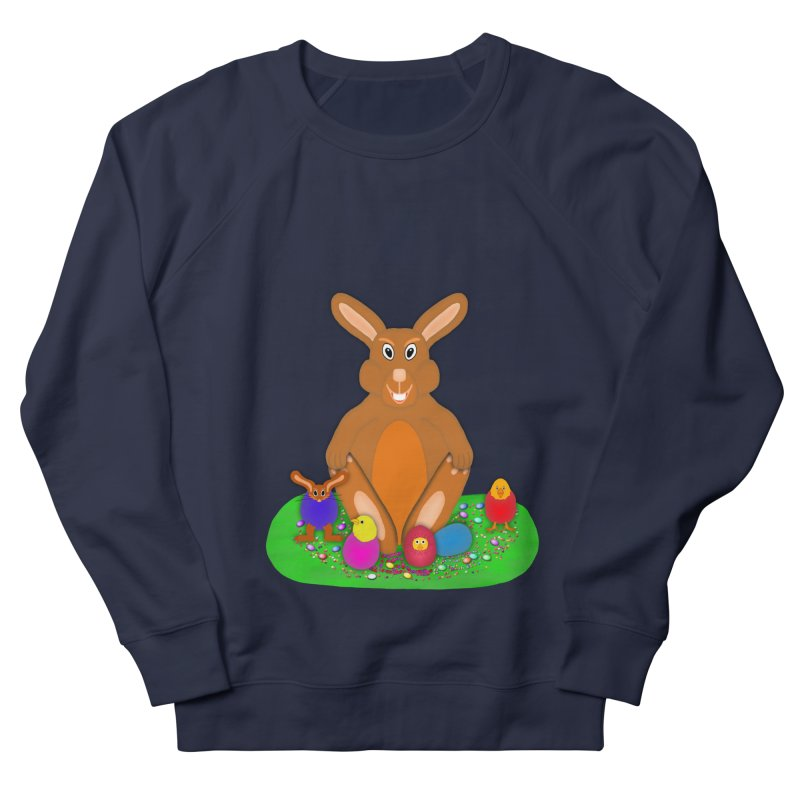 Funny Bunny Women's French Terry Sweatshirt by nicolekieferdesign's Artist Shop
