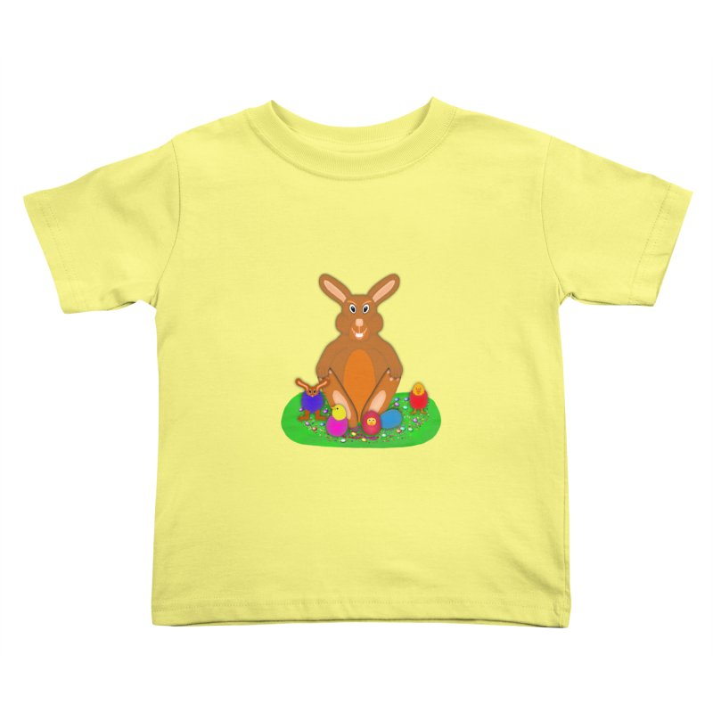 Funny Bunny Kids Toddler T-Shirt by nicolekieferdesign's Artist Shop