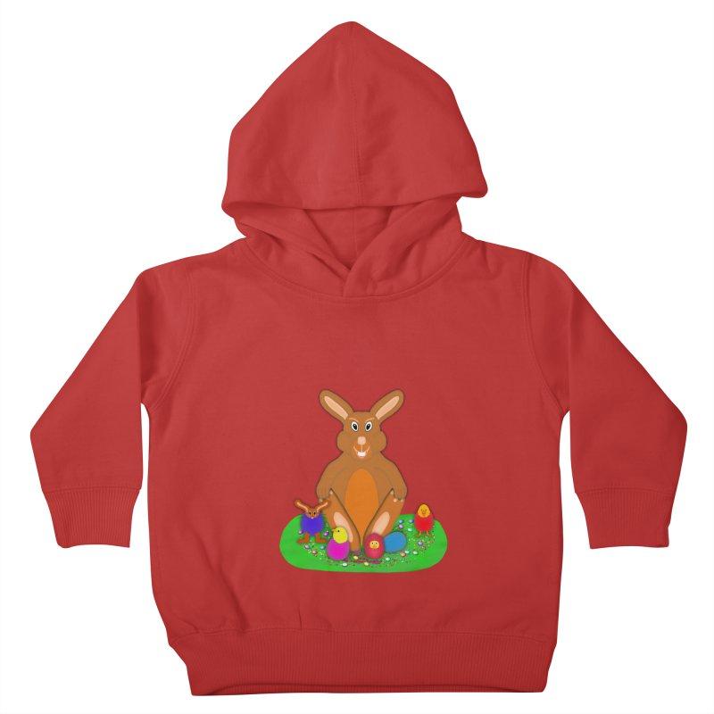 Funny Bunny Kids Toddler Pullover Hoody by nicolekieferdesign's Artist Shop