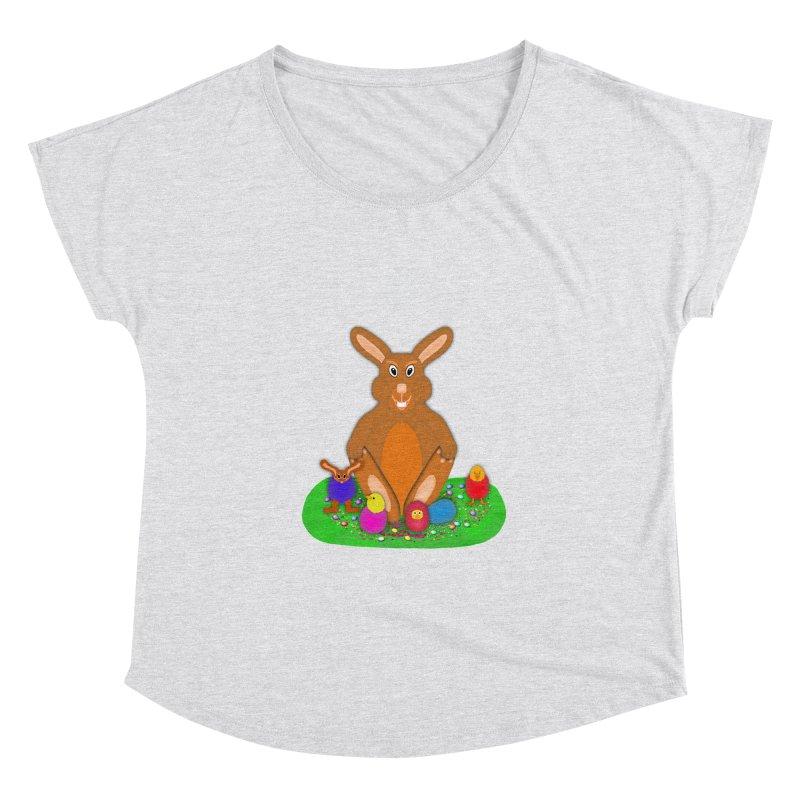 Funny Bunny Women's Dolman by nicolekieferdesign's Artist Shop