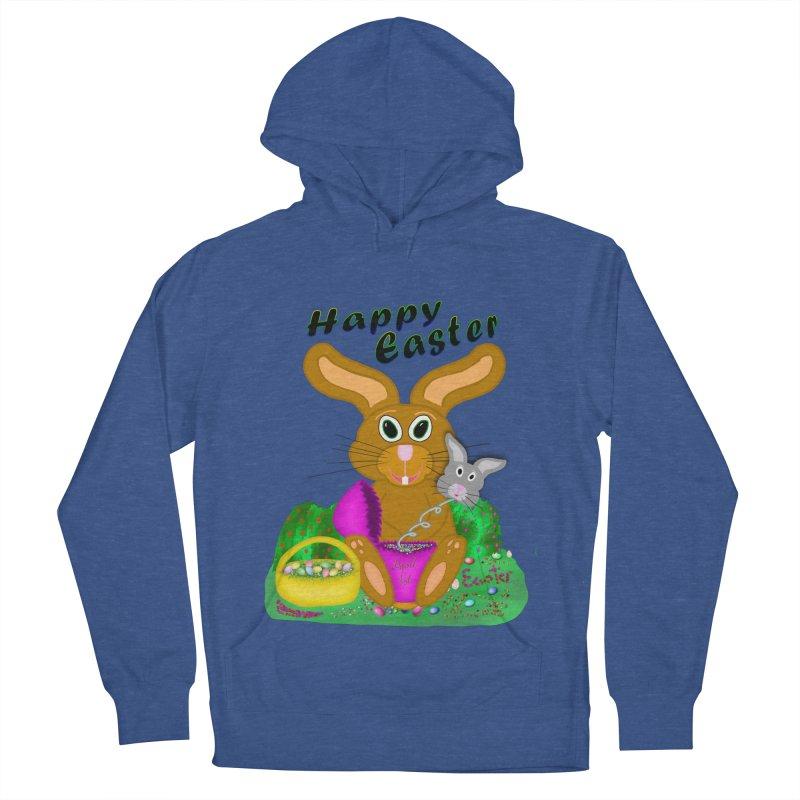 Prankster Bunny Women's Pullover Hoody by nicolekieferdesign's Artist Shop
