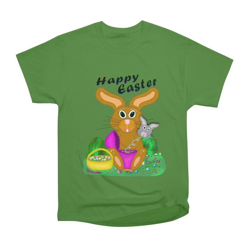 Prankster Bunny Men's Classic T-Shirt by nicolekieferdesign's Artist Shop