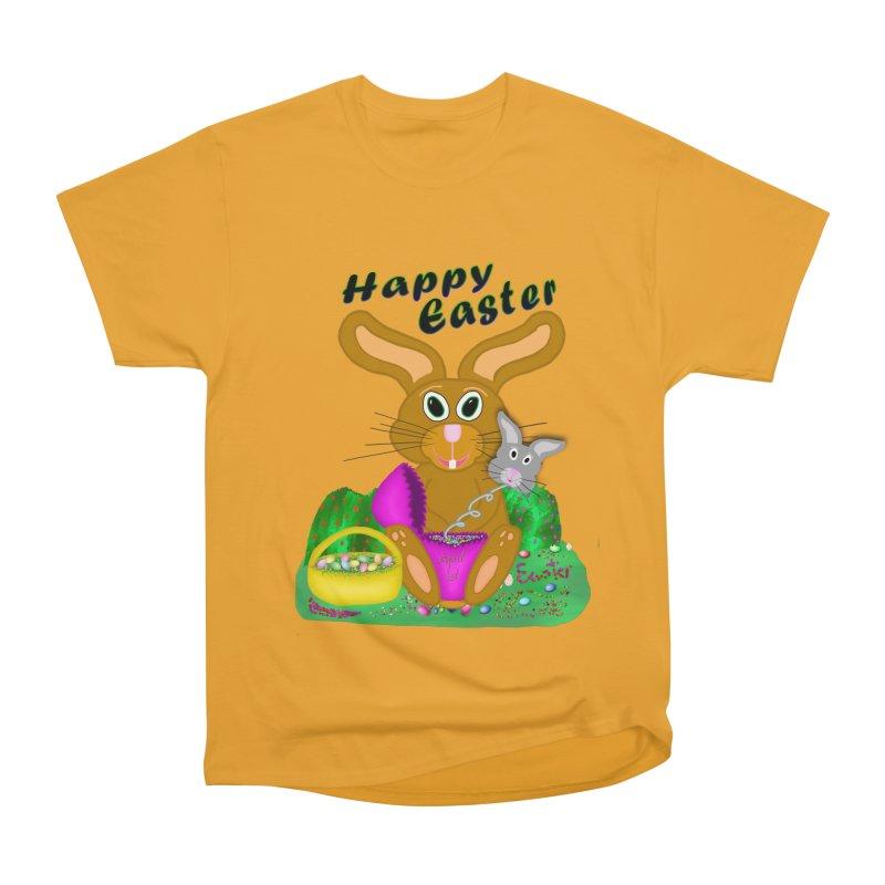 Prankster Bunny Women's Heavyweight Unisex T-Shirt by nicolekieferdesign's Artist Shop