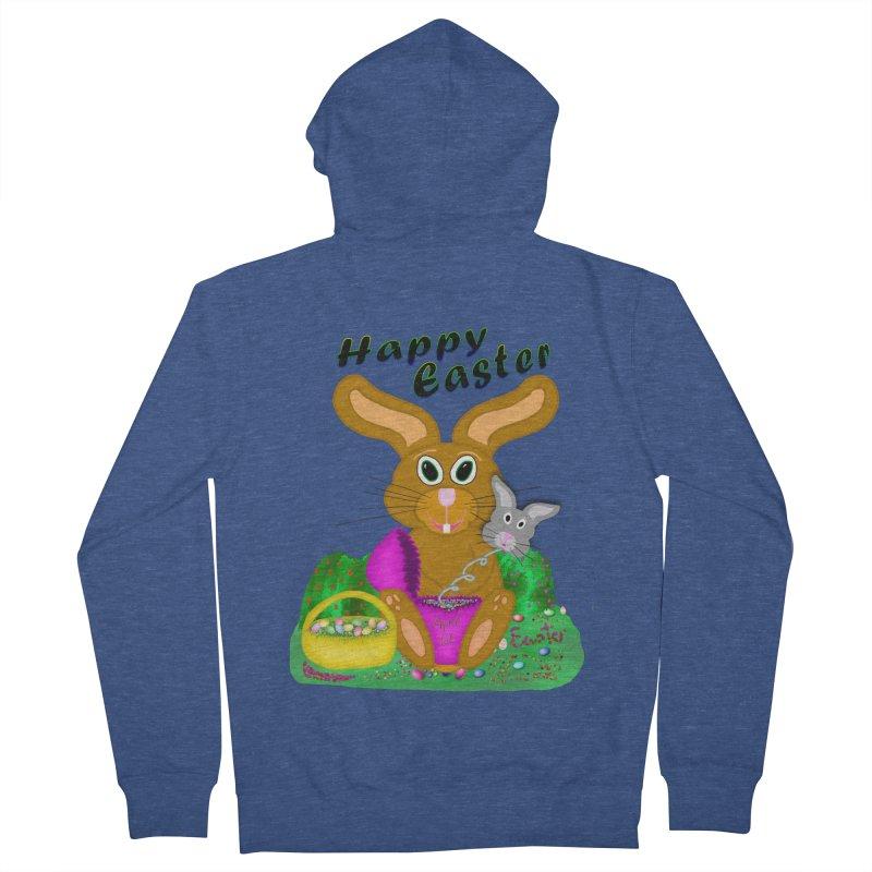 Prankster Bunny Women's Zip-Up Hoody by nicolekieferdesign's Artist Shop